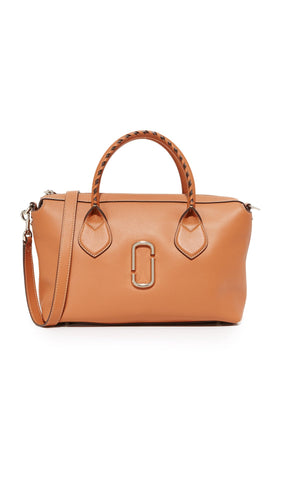 Marc Jacobs Women's Noho Medium Satchel, Caramel Cafe, One Size
