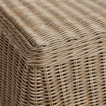 Willow Rattan Side Table