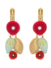 Taratata Delicate Flowers Lever Back Earrings - Sur La Bouche