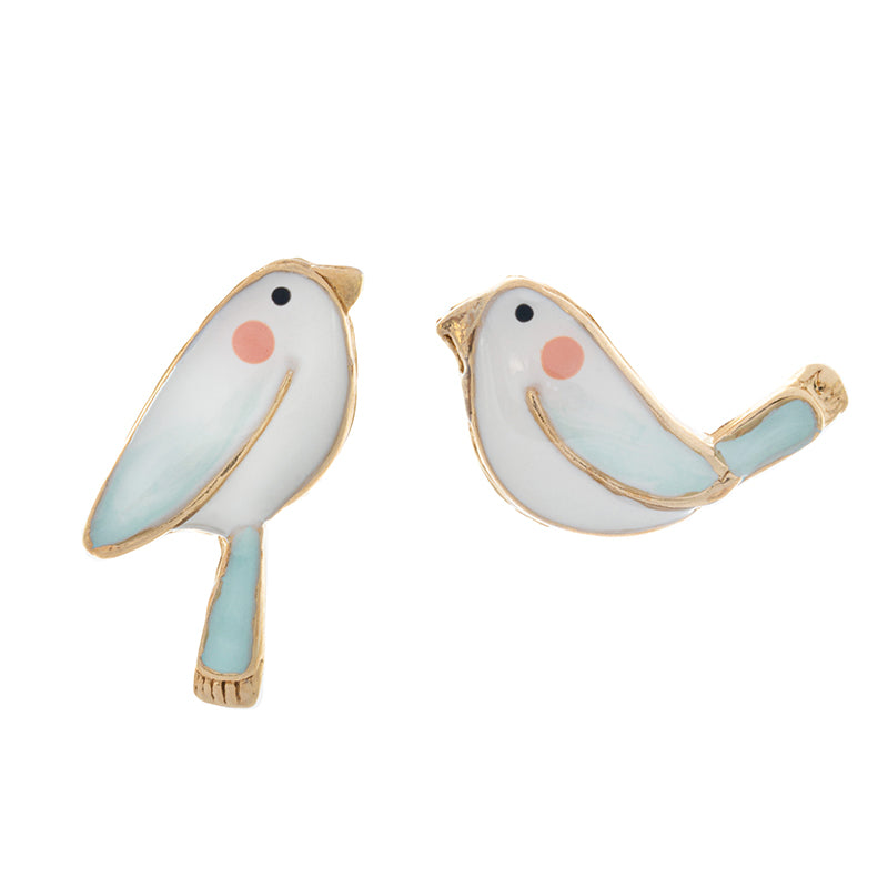Taratata Bird Stud Earrings - Sur La Bouche