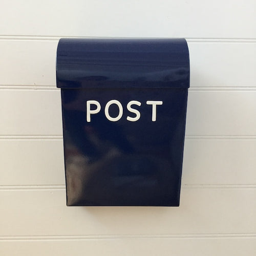 Navy Post Box - Large