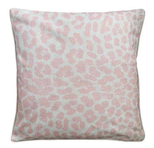 Pink Leopard Cushion Cover