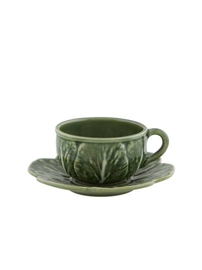 Cabbage Ware Tea Cup