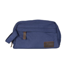 Canvas Navy Wash Bag
