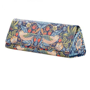 Morris and Co Strawberry Thief Glasses Case