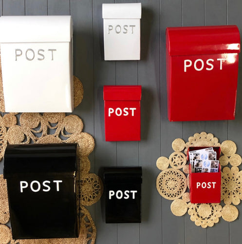 Red Post Box - Large