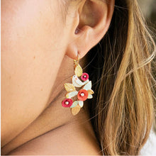Taratata Lever Back Earrings - Sur La Bouche