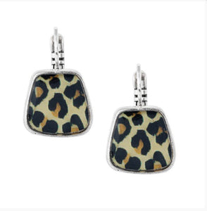 Taratata Lever Back Earrings - Panthere Bleue