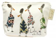 "Anna Wright ""Ladies Who Lunch"" Make Up Bag"