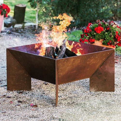 Large Fire Pit including Grill Plate - PRE ORDER
