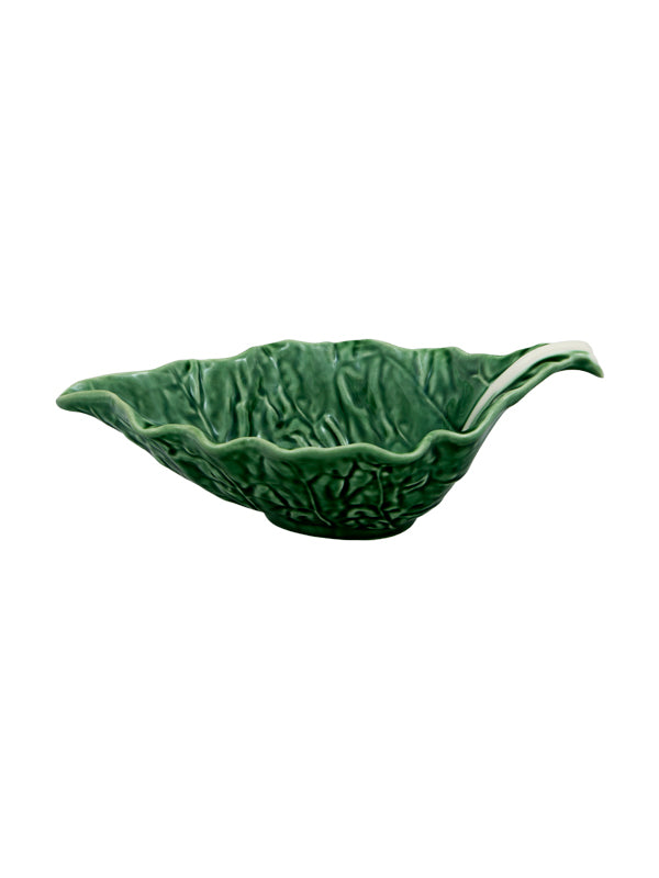 Cabbage ware sauce boat
