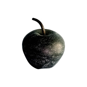 Small Black Marble Apple