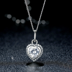 Signature Heart Drop Necklace