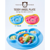 Teddy Angel Plate - NatureK