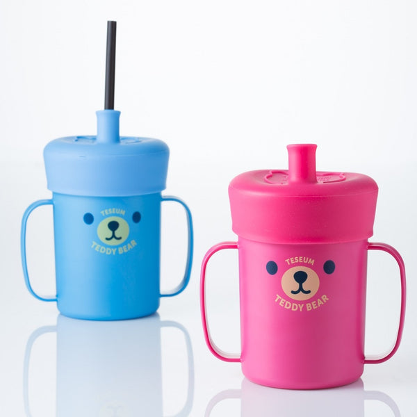 NEW! Teddy Straw Cup Set - NatureK