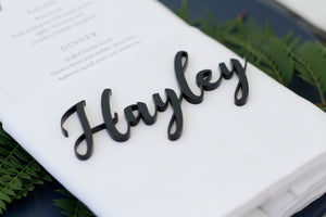 Acrylic Name Place Cards