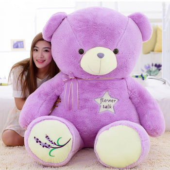 Huge Teddy Bear Giant Teddy Bear Stuffed Bear - MxDeals.com