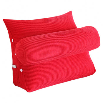 Bed Backrest Support Pillow Triangular Cushion