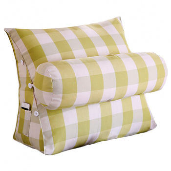 Bed Backrest Wedge Cushion Removable Cover