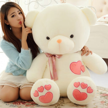 Soft Cute Teddy bear Huge Teddy Bear Stuffed Bear - MxDeals.com