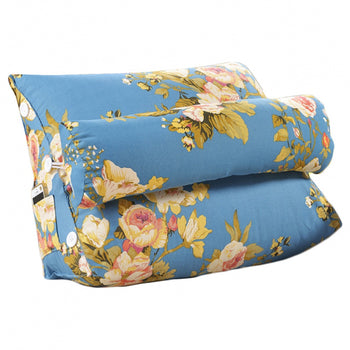 Removable Cover Support Pillow Triangular Cushion