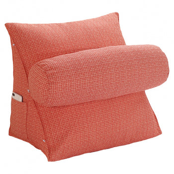 Wedge Cushion Bed Backrest Support Pillow - MxDeals.com