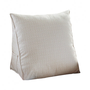 Removable Cover Triangular Cushion Support Pillow - MxDeals.com
