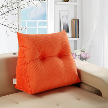 Support Pillow Triangular Cushion Removable Cover