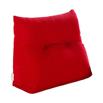 Wedge Cushion Bed Backrest Triangular Cushion