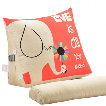 Support Pillow Removable Cover Wedge Cushion - MxDeals.com