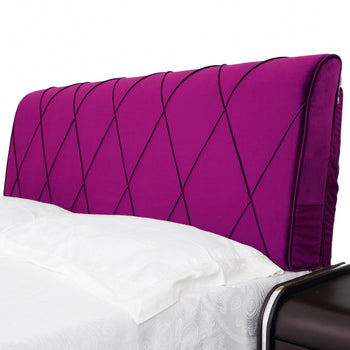 Bed Backrest Triangular Cushion Removable Cover - MxDeals.com