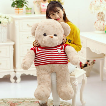 Huge Teddy Bear Giant Stuffed Animals Soft Cute Teddy bear - MxDeals.com