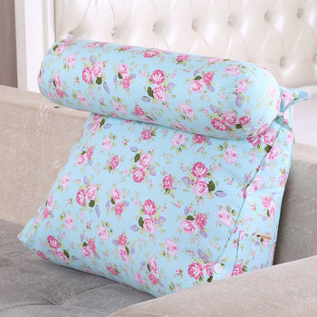 Support Pillow Triangular Cushion Bed Backrest