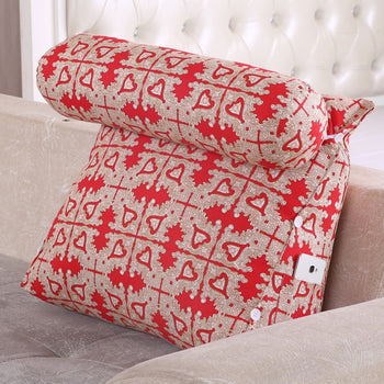 Support Pillow Wedge Cushion Removable Cover