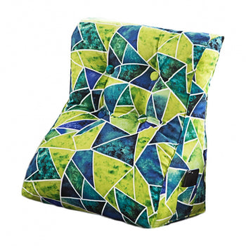Removable Cover Triangular Cushion Support Pillow