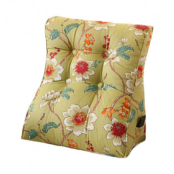 Triangular Cushion Bed Backrest Wedge Cushion