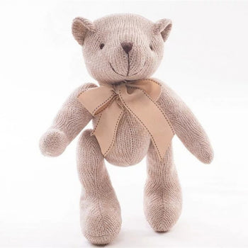 Wool Knitted of Teddy Bear Exquisite of Gift