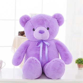 Teddy Bear Doll Purple Children Gift Many Kinds of Size - MxDeals.com
