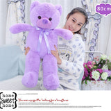 Teddy Bear Doll Purple Children Gift Many Kinds of Size