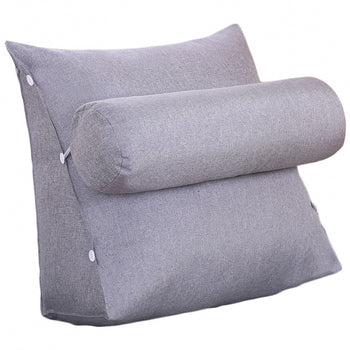 Wedge Cushion Support Pillow Bed Backrest