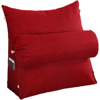 Removable Cover Triangular Cushion Wedge Cushion
