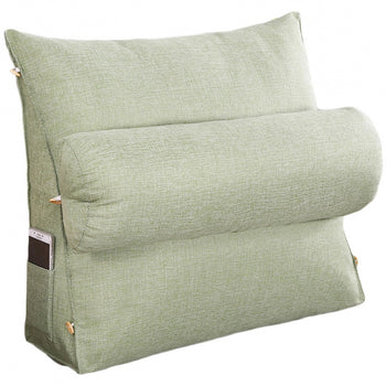 Support Pillow Bed Backrest Removable Cover