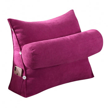Support Pillow Wedge Cushion Triangular Cushion - MxDeals.com