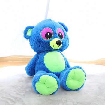 Blue Teddy Bear Doll Big Eyes Children Gift