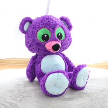 Purple Teddy Bear Doll Big Eyes Children Gift - MxDeals.com