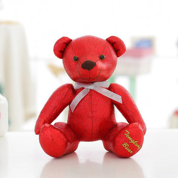High-Grade of Teddy Bear Doll Beautiful Red Color Children Gift - MxDeals.com