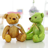 High-Grade of Teddy Bear Doll Beautiful Green Color Children Gift
