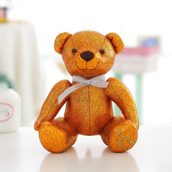 High-Grade of Teddy Bear Doll Beautiful Orange Color Children Gift