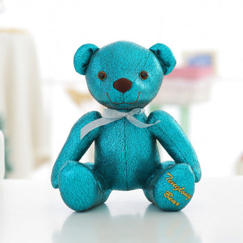 High-Grade of Teddy Bear Doll Beautiful Blue Color Children Gift - MxDeals.com