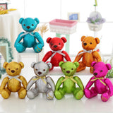 High-Grade of Teddy Bear Doll Beautiful Blue Color Children Gift